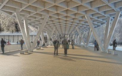 3DKRAFTWERK architekten winterhur dolder zuerich zwischenraum