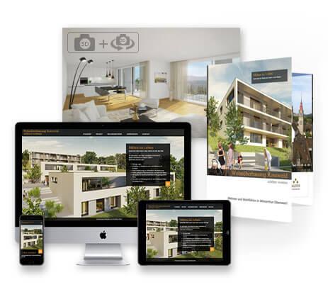 immobilienmarketing 3dkraftwerk professional