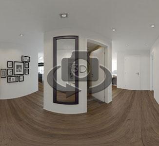virtuelle wohnungsbesichtigung 360 panorama