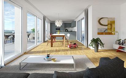 3DKRAFTWERK 3d rendering stapfenwis attika miete