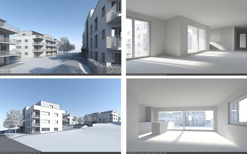 Architekturvisualisierung zuerich projektablauf phase 1