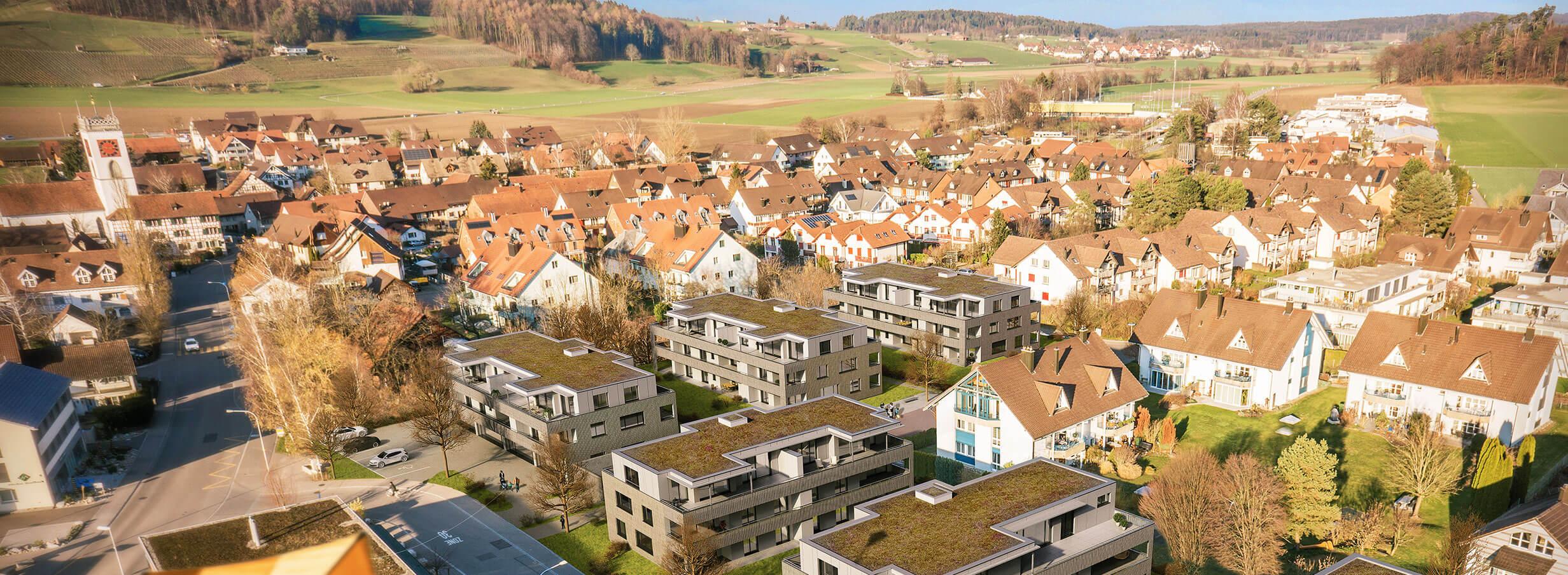Luftaufnahmen Drohne Winterthur Sagi Neftenbach