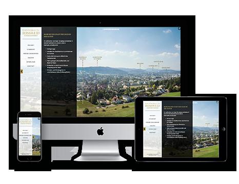 Immobilienvermarktung tool Wedesignvorlage 3DKraftWerk avantgarde