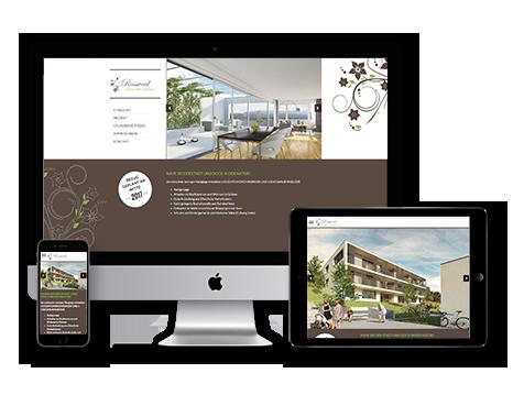 Immobilienvermarktung tool Wedesignvorlage 3DKraftWerk classic