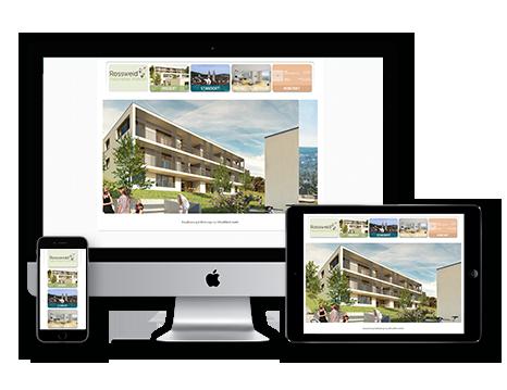 Immobilienvermarktung tool Wedesignvorlage 3DKraftWerk pop