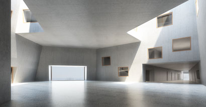 3DKRAFTWERK architekten winterthur diplom uetliberg zuerich foyer